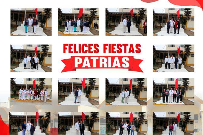 CEREMONIA PROTOCOLAR- IZAMIENTO DE PABELLON NACIONAL 197° ANIVERSARIO DE LA INDEPENDENCIA DEL PERU