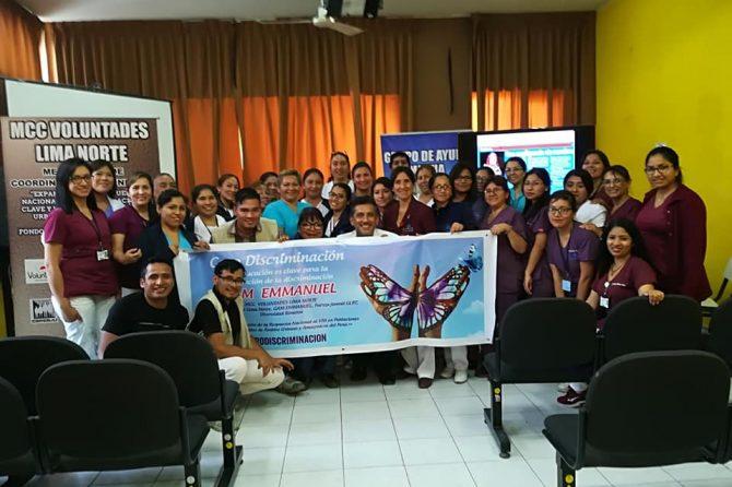 Taller de Sensibilización a personal de salud para atención a pacientes con VIH