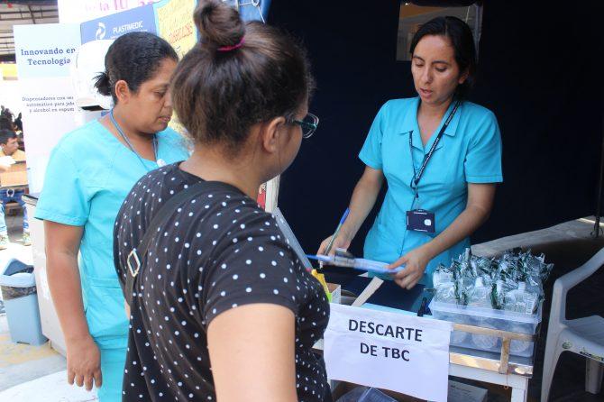 FERIA INFORMATIVA  DÍA MUNDIAL DE LA LUCHA CONTRA LA TUBERCULOSIS
