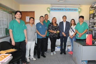 RECONOCIDO MEDICO TRAUMATÓLOGO VISITÓ INSTALACIONES DEL LANFRANCO LA HOZ