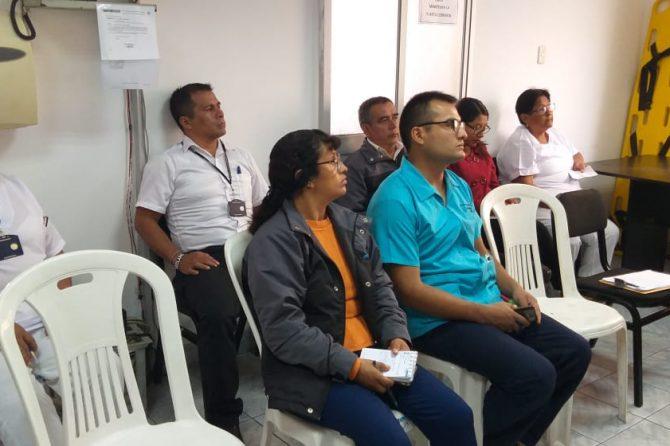 CAPACITACIÓN DE EVACUACION ANTES SISMOS E INCENDIO