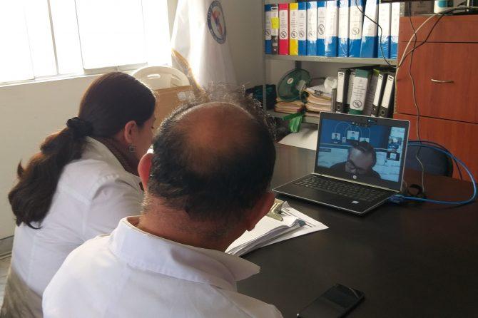 HOSPITAL CARLOS LANFRANCO LA HOZ REALIZA TELECONSULTA AL CAYETANO HEREDIA