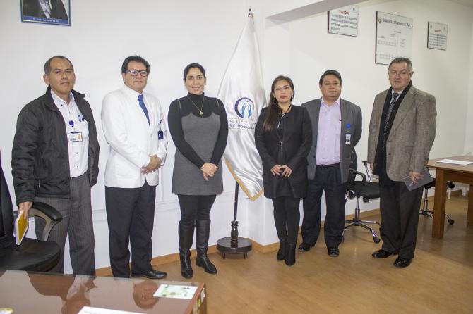 CONGRESISTA URSULA LETONA REALIZA VISITA DE REPRESENTACIÓN AL HOSPITAL CARLOS LANFRANCO LA HOZ