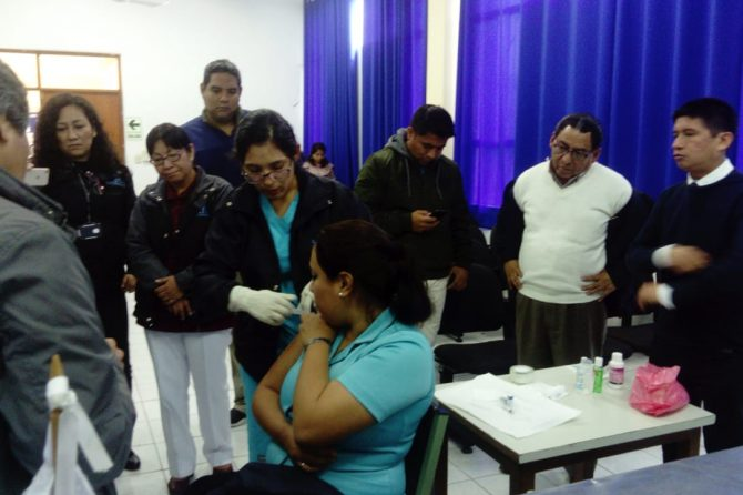 II TALLER DE CUIDADOS PALIATIVOS ONCOLOGICOS
