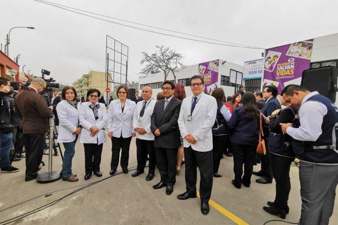 HOSPITAL CARLOS LANFRANCO LA HOZ PARTICIPA EN LA INAUGURACION DEL CENTRO DE SALUD MENTAL UNIVERSITARIO