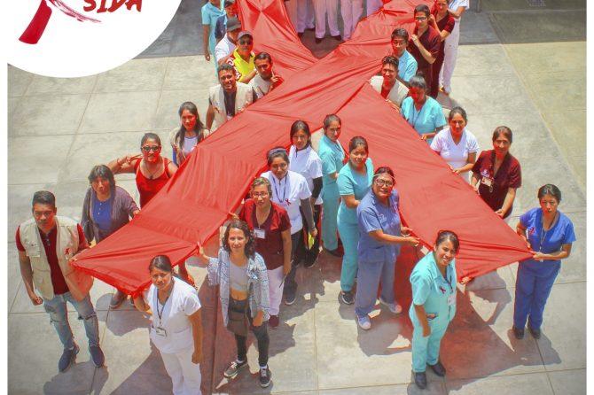 FERIA INFORMATIVA  DIA MUNDIAL DE LA LUCHA CONTRA EL SIDA
