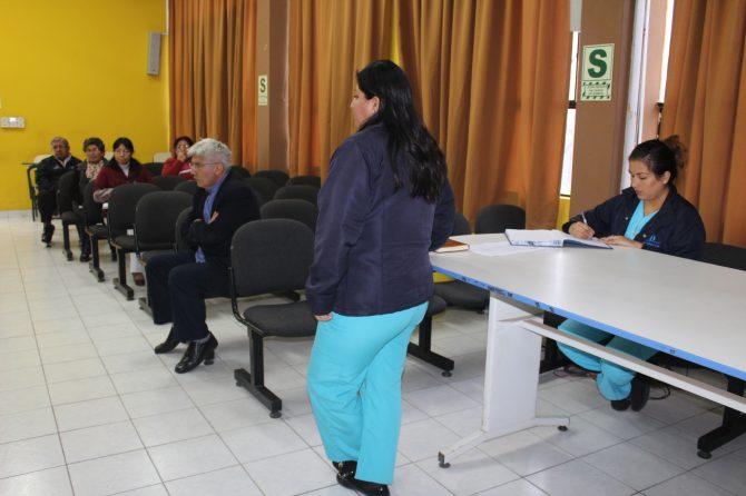 REUNIÓN MENSUAL DEL COMITÉ DE IAAS (INFECCIONES ASOCIADAS A LA ATENCIÓN EN SALUD)