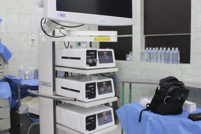 HOSPITAL CARLOS LANFRANCO LA HOZ ADQUIERE EQUIPO DE ULTIMA GENERACION TORRE DE VIDEOCIRUGÍA LAPAROSCÓPICA