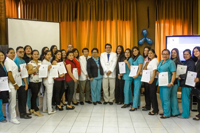 HOSPITAL CARLOS LANFRANCO LA HOZ NOMBRA A 29 PROFESIONALES, TECNICOS, QUIMICOS Y TECNOLOGOS