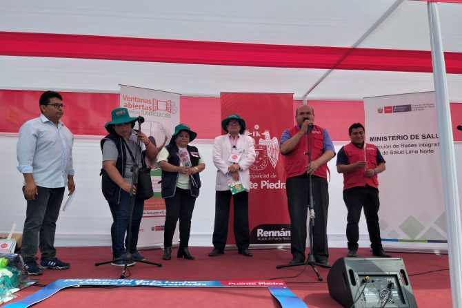 FERIA INFORMATIVA Y CAMPAÑA DE SALUD  DIA MUNDIAL DE LA LUCHA CONTRA LA TBC