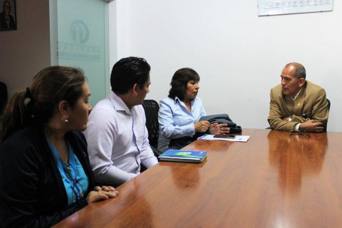 SEGURIDAD Y SALUD EN EL TRABAJO DEL MINISTERIO DE SALUD  VISITA EL LANFRANCO LA HOZ